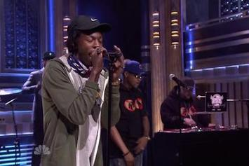 "Joey Bada$$ & BJ The Chicago Kid Perform ""Like Me"" Live On Jimmy Fallon"