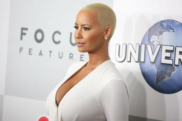 Amber Rose's Family Didn't Attend Her And Wiz Khalifa's Wedding Because Of His Race