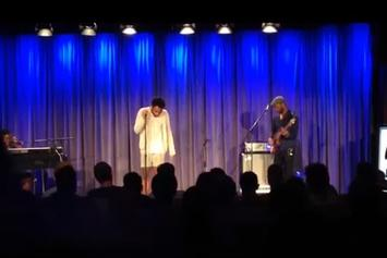 "Childish Gambino Performs ""Sober"" Live At The Grammy Museum"