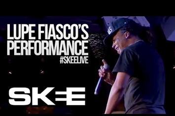 """Lupe Fiasco Performs New Chris Brown-Featured Song """"Crack"""""""