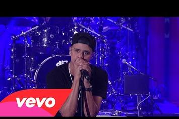 "J. Cole Performs ""Power Trip"" On David Letterman"