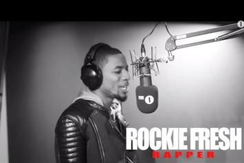 """Rockie Fresh """"BBC Radio 1 'Fire In The Booth' Freestyle"""" Video"""