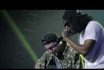 """Mac Miller Feat. Ab-Soul """"Matches (Live In NYC)"""" Video"""