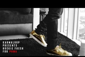 "Rockie Fresh ""Talks His Come-Up For Puma"" Video"
