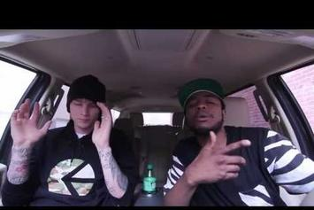 "Machine Gun Kelly Feat. Dub-O ""Freestyle In Car"" Video"