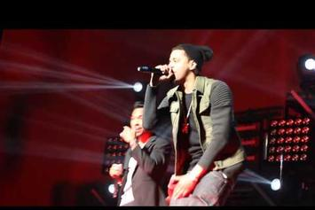 """Miguel Feat. J. Cole """"Perform """"Power Trip"""" (Live At Barclays Center)"""" Video"""