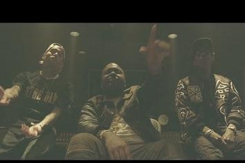 "Sean Kingston Feat. Chris Brown & Wiz Khalifa  ""Beat It (In Studio)"" Video"