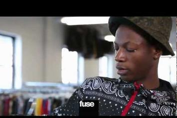 "Joey Bada$$ ""Tours His Ecko Clothing Designs"" Video"
