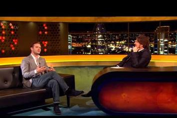 "Justin Timberlake ""On The Jonathan Ross Show"" Video"