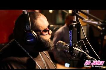 "Rick Ross ""Talks Young Jeezy & 50 Cent"" Video"