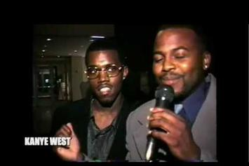 "Kanye West Feat. Mase ""Footage From Jermaine Dupri's 1998 Birthday Party"" Video"