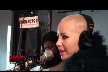 "Amber Rose ""Discusses Relationship w/ Wiz Khalifa [Met Him On Twitter]"" Video"