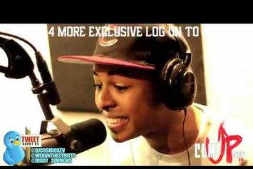 "Diggy Simmons ""Cosmic Kev Freestyle"" Video"
