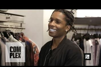 Go Shopping With A$AP Rocky In L.A.
