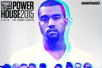 Watch Kanye West, Ludacris, And More Perform Live At Powerhouse 2015