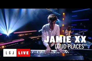 """Jamie xx Performs """"Loud Places"""" On French TV"""