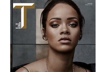 "Rihanna Named One Of ""The Greats"" By NYTimes Style Magazine"
