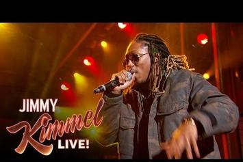 """Future Performs """"Blow A Bag"""" & """"Where Ya At"""" On Jimmy Kimmel Live"""