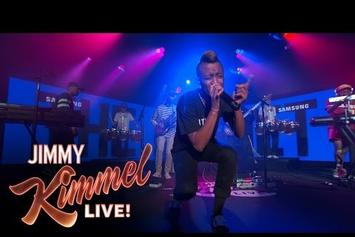 "The Internet Performs ""Get Away"" On Jimmy Kimmel"