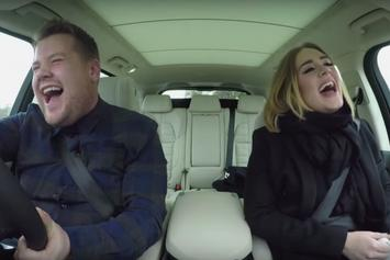 "Adele Raps Nicki Minaj's ""Monster"" Verse In James Corden's ""Carpool Karaoke"""