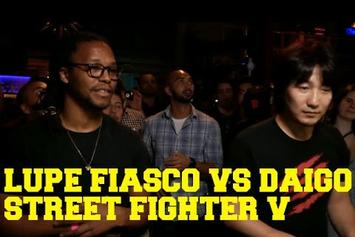 Lupe Fiasco Defeats The World's Top Ranked Street Fighter Pro