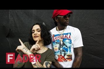 2 Chainz & Kehlani Chop It Up At Fader Fort
