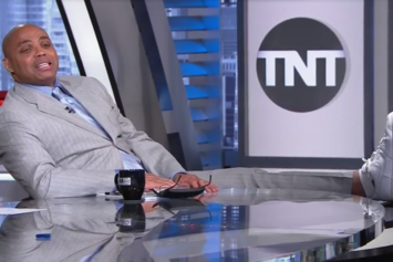 """Inside The NBA"" Clowns Charles Barkley For His Air Force 1s"