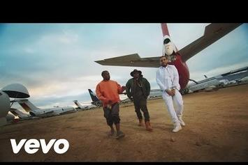 """French Montana Feat. Kanye West & Nas """"Figure It Out"""" Video"""