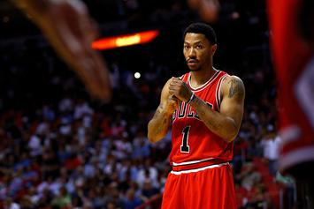The Knicks Are Reportedly Interested In Trading For Derrick Rose