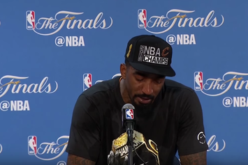 Watch JR Smith's Emotional Post-Game Press Conference