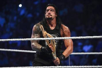 """WWE's Roman Reigns Suspended For Violating """"Wellness Policy"""""""