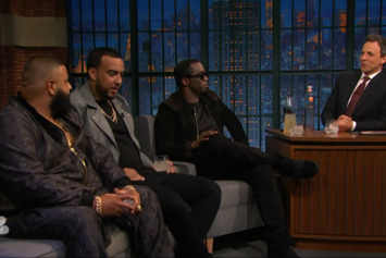 Diddy, DJ Khaled & French Montana On Seth Meyers