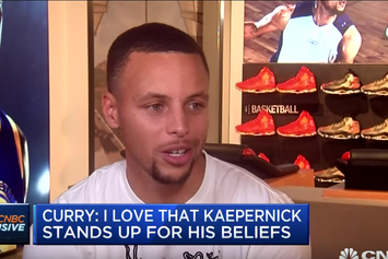 "Steph Curry: ""I Love That Colin Kaepernick Stands Up For His Beliefs"""