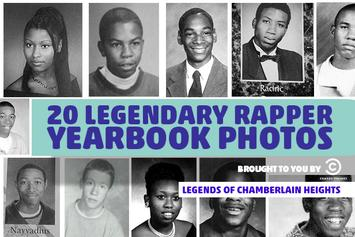 20 Legendary Rapper Yearbook Photos