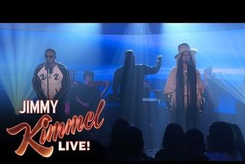 "Nas and Erykah Badu Perform ""This Bitter Land"" On Jimmy Kimmel"