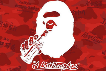 BAPE x Coca Cola Collection Launches This Week