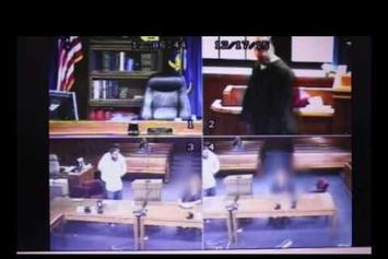 Watch Video Of Judge Joining Courtroom Scuffle After Defendant Talks Back To Him