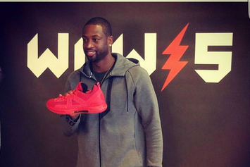 """Preview Dwyane Wade's """"Coming Home"""" Way Of Wade 5 For Opening Night"""