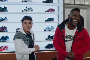 Student Who Gave Air Jordans To His Teacher Stars Alongside Antonio Brown In Champs Sports Ad