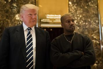Kanye West Shares His New Donald Trump Autograph
