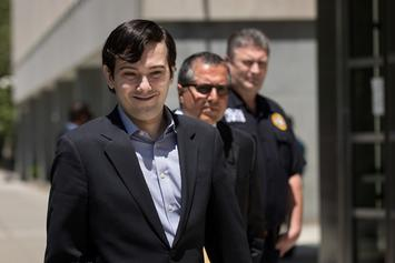 Martin Shkreli Has Been Suspended From Twitter After Harassment Accusations