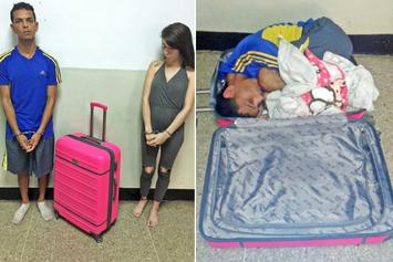 Woman Tried To Smuggle Her Boyfriend Out Of Prison In A Suitcase