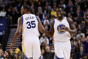 "Warriors' Draymond Green Mocked LeBron James For ""Flopping"" Last Night"
