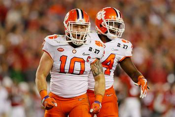Clemson Linebacker Gets Trophy Tattooed On Achilles In Response To Desmond Howard's Criticism