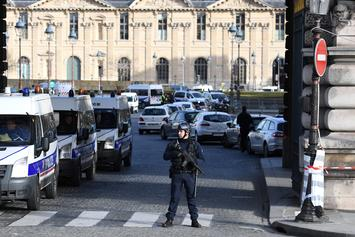 French Soldier Wounded In Alleged Terrorist Attack At The Louvre