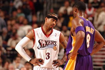 Kobe Bryant Studied How Sharks Hunt Seals To Help Him Guard Allen Iverson