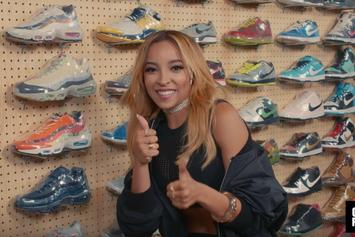 """Watch Tinashe Go """"Sneaker Shopping"""" At Flight Club Los Angeles"""
