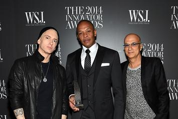 "Eminem Defines Difference Between Jimmy Iovine & Dr. Dre In New ""Defiant Ones"" Trailer"