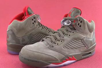 """Reflective Camo"" Air Jordan 5s To Release This Year"