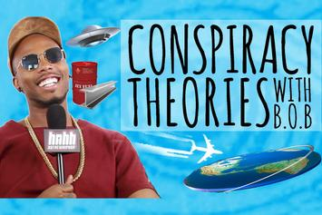 B.o.B Talks Conspiracy Theories with HotNewHipHop